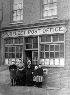 Purfleet Post Office,1911