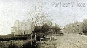 Purfleet village,1910