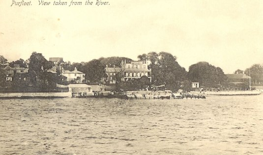 Royal Hotel from river