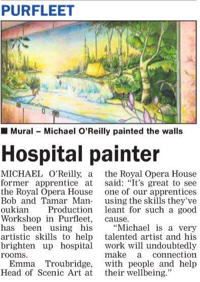 17.12.14 Hospital painter, p10. Thurrock Gazette