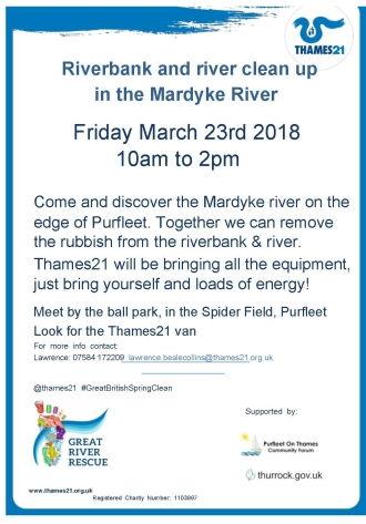 18.03.23 Mardyke River clean