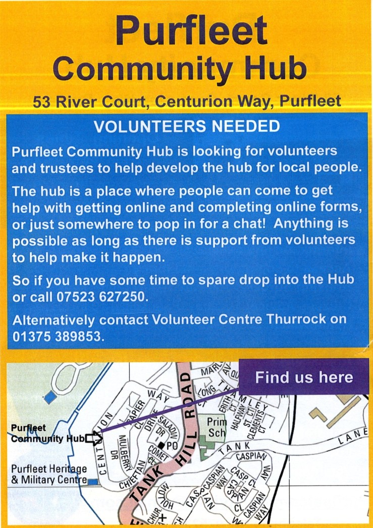 Purfleet Community Hub volunteers, 19.4.18