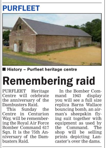 18.05.17 Remembering Raid p10. Thurrock Gazette
