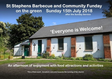 18.07.15 St Stephen's fun day & barbecue
