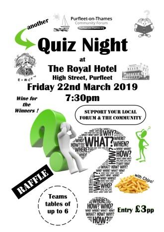 19.03.22 quiz at The Royal