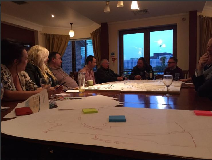 16.04.11 Design workshop with local businesses at The Fleet