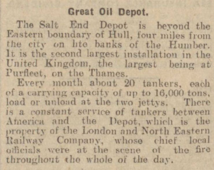 1929.09.18 the largest oil depot, Leeds Mercury