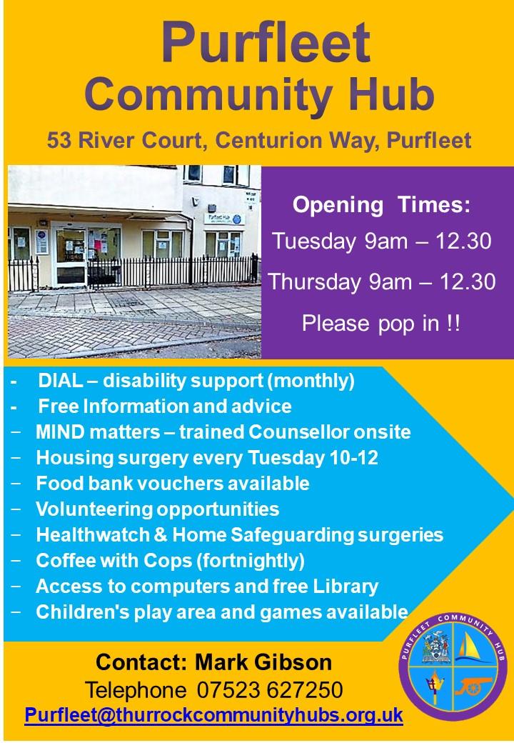 Purfleet Community Hub Sept 2019
