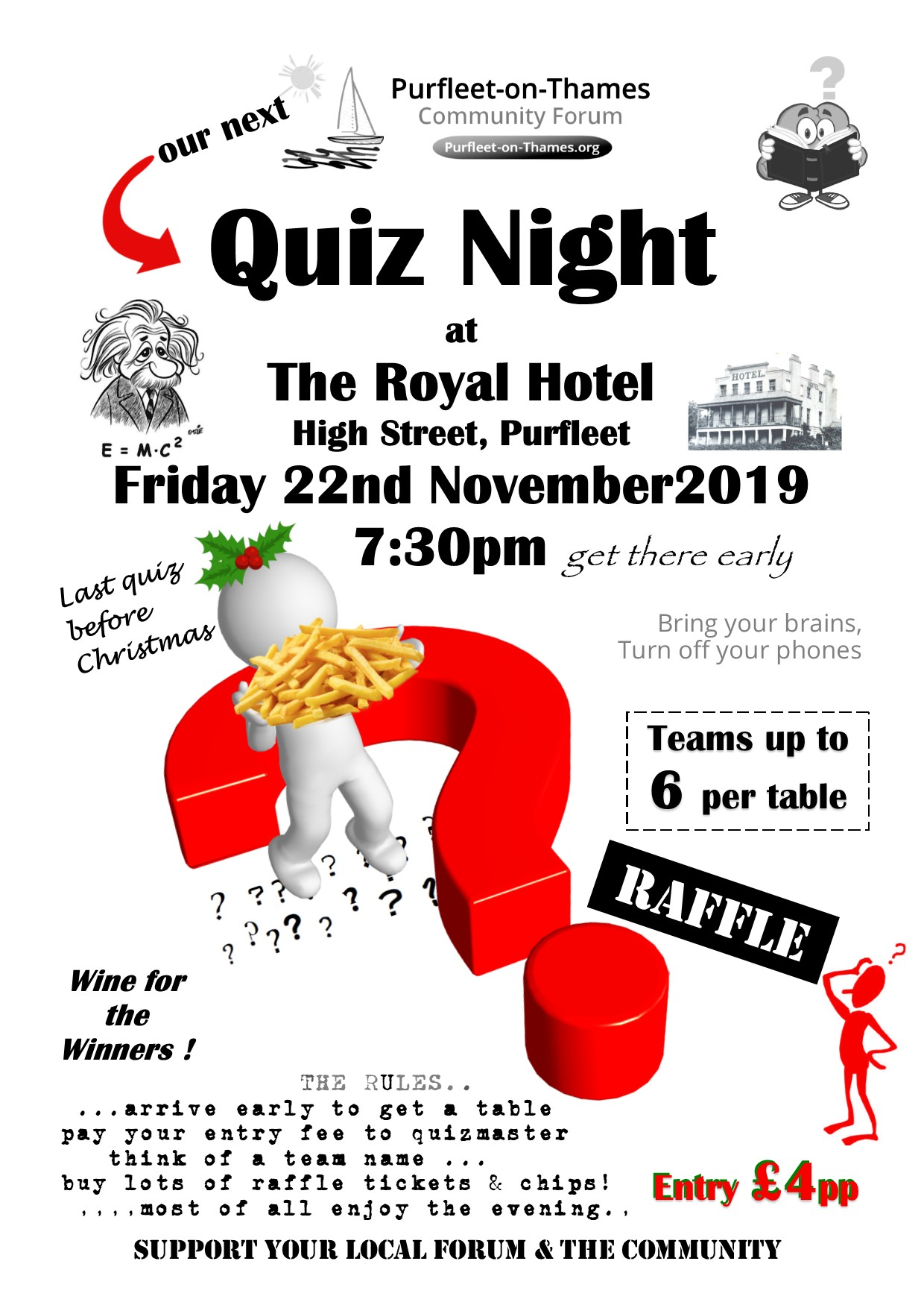19.11.22 Quiz Night at The Royal