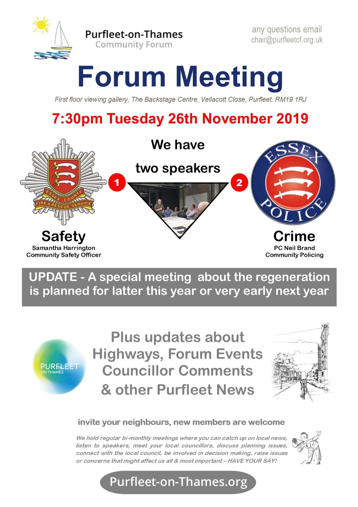 19.11.26 POTCF forum meeting, update