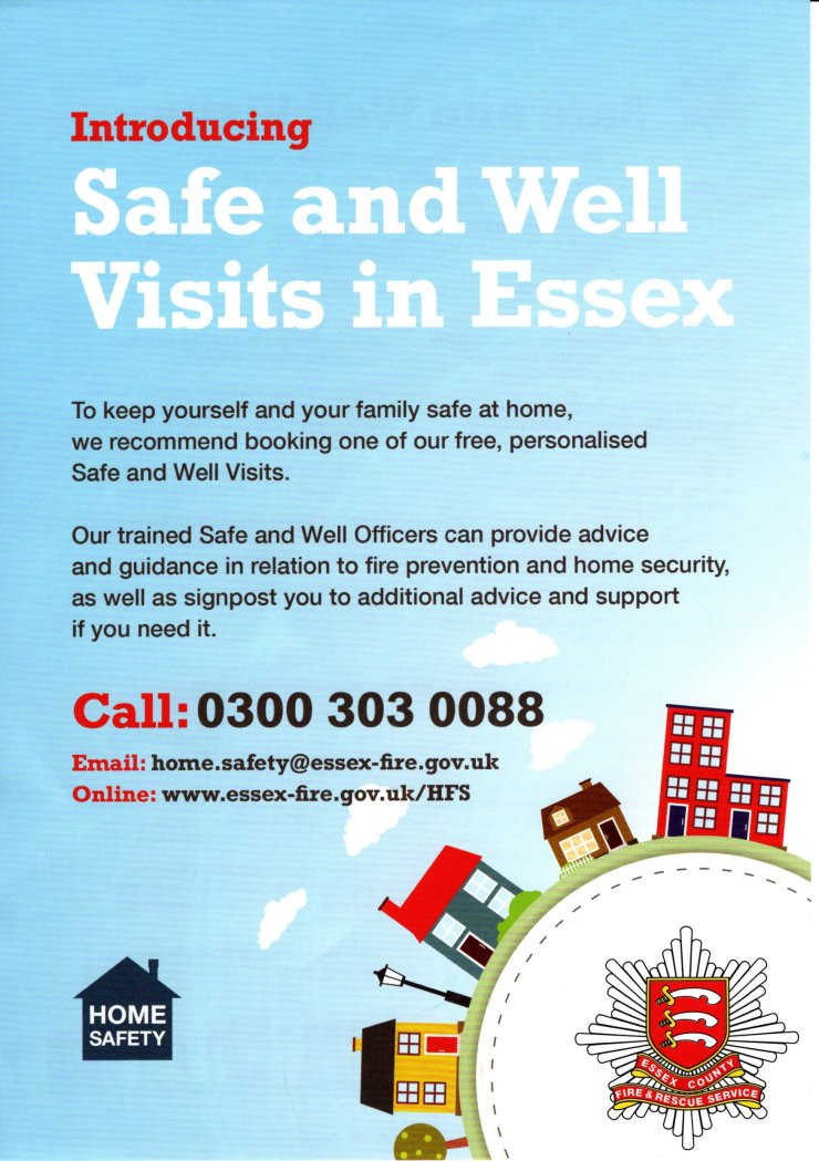 Essex Fire Service visits, a