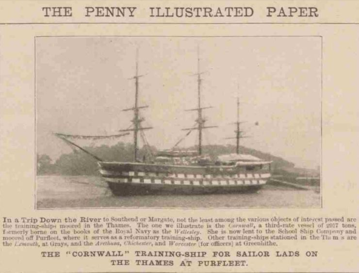 1898.09.10 in a trip down the river T S Cornwall, The Penny Illustrated