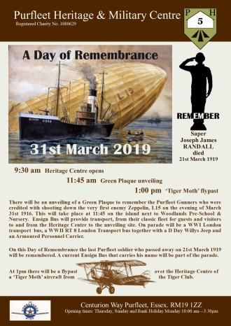 19.03.31 PH&MC Day of Remembrance