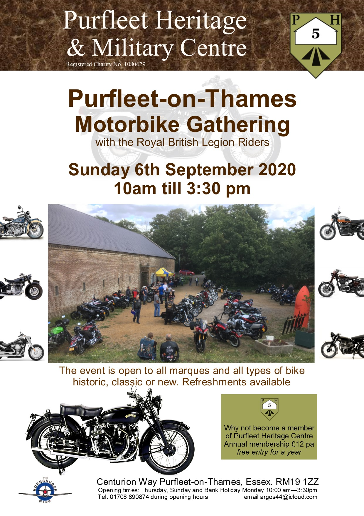 20.09.06 Purfleet Motorbike Gathering, British Legion