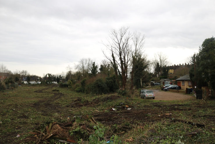 21.01.26 clearance behind Hollow Cottages (3)