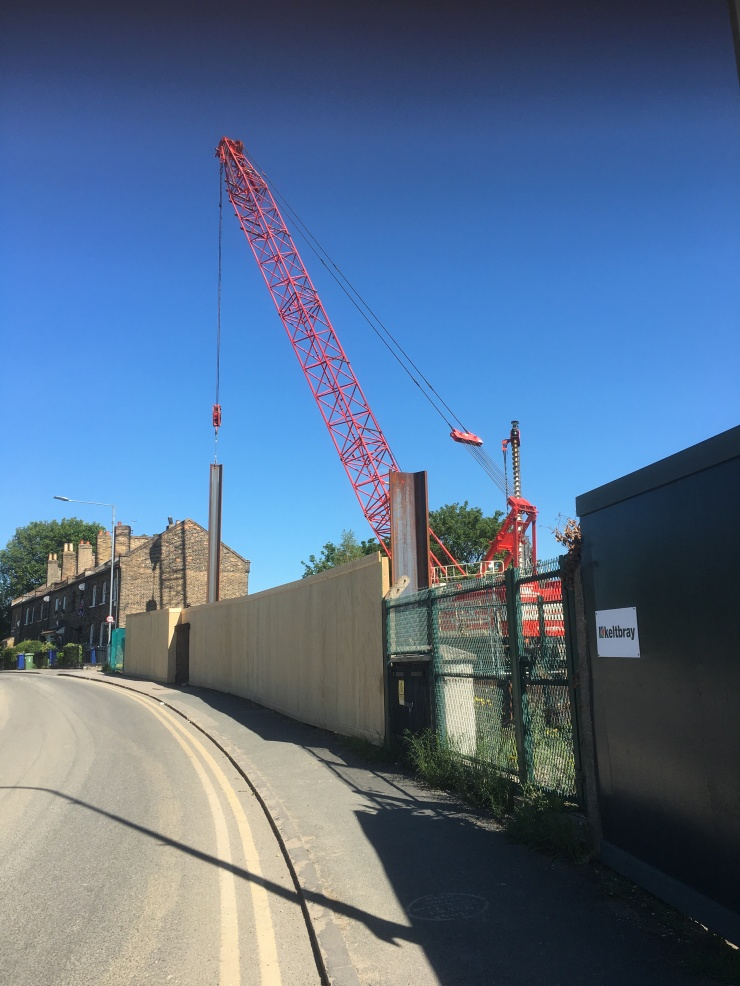 21.05.27 pile driving by Botany Terrace