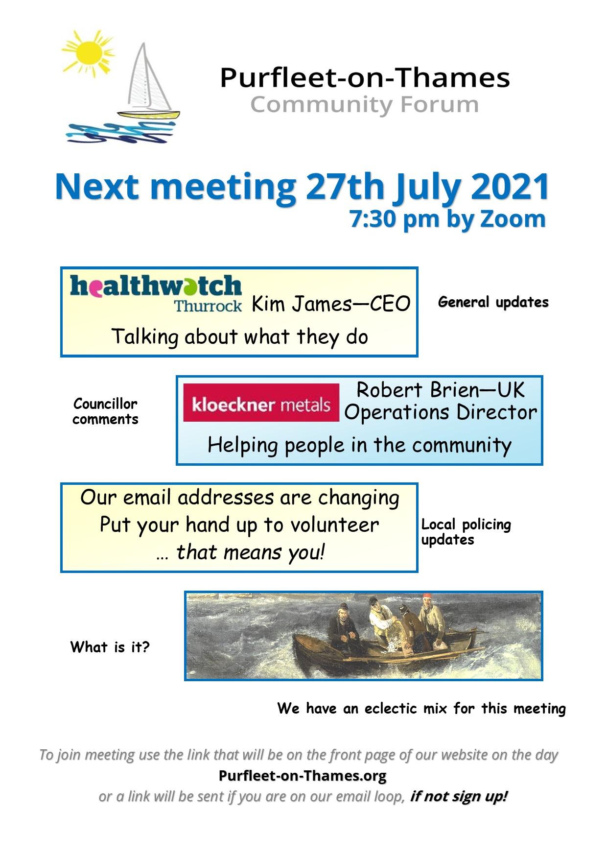 21.07 .27 POTCF meeting